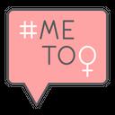 Me Too Hashtag Icon