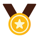 Medal Badge Star Badge Icon