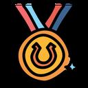 Equestrian Winner Horse Icon
