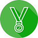 Medal Position Trophy Icon