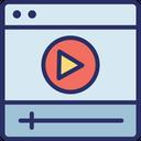 Media Player Media Movie Player Icon