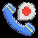 Phone Call Pharmacy Medicine Icon