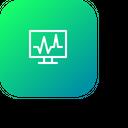 Medical Cardiogram Health Icon