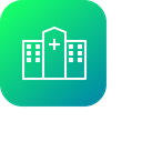 Medical Hospital Building Icon
