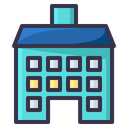 Medical Hospital Building Icon