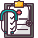 Health Medical Report Icon