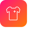Medical Tshirt Cloth Icon