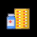 Medicine Travel Tablet Icon
