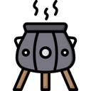 Medieval cauldron Icon