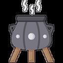 Medieval Cauldron Cauldron Poison Icon