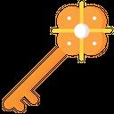 Medieval Key Key Access Icon