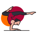 Meditation Yoga Health Icon