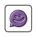 Meet Me Chat Message Icon