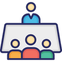 Employer Human Resources Interview Icon