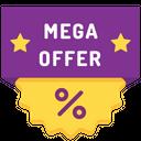 Mega Offer Icon
