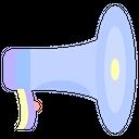 Loudspeaker Announcement Announcer Icon