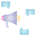 Megaphone Election Campaign Icon