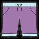 Mens Short Underwear Short Pant Icon