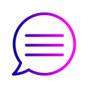 Message Chatting Communication Icon