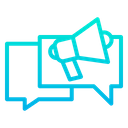 Marketing Message Marketing Communication Chatting Icon
