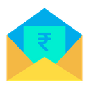 Message Rupees Icon