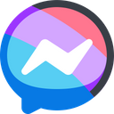 Messenger Social Media Iconez Icon