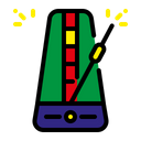 Metronome Music Instrument Icon