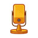 Mic Podcast Voice Icon