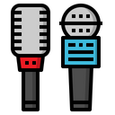 Microphone Sing Interview Icon