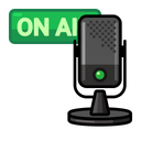 Mic On Air Icon