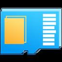Micro Sd Card Ssd Storage Icon