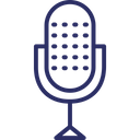 Microphone Sound Conically Microphone Icon