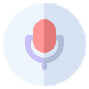Microphone Communication Music Icon