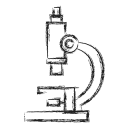 Microscope Marketing Research Icon