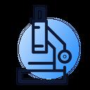 Research Market Microscope Icon
