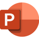 Microsoft Powerpoint Presentation Business Icon