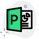 Microsoft Powerpoint Technology Logo Social Media Logo Icon