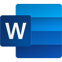 Word Office 365 Microsoft Word Icon