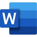 Microsoft Word Document File Icon