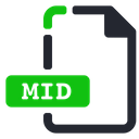 Mid File Extension Icon