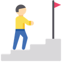 Goal Progress Progress Employee Progress Icon