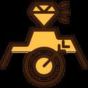 Milestone Mountain Diamond Icon