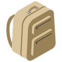 Military Backpack Armoured Bag Soldier Case Icon