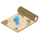 Military Map Icon