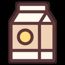 Milk Pack Milk Box Milk Package Icon