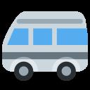 Minibus Bus Vehicle Icon
