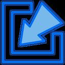Minimize Resize Scale Icon