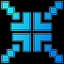 Minimize Size Arrow Icon