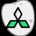 Mistubitshi Company Logo Brand Logo Icon