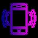 Mobile Vibration Vibrate Icon